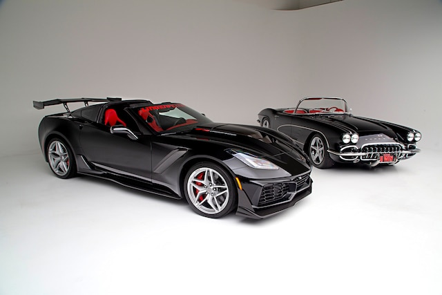 Win a 1961 and 2019 Corvette with $60-G's for Taxes