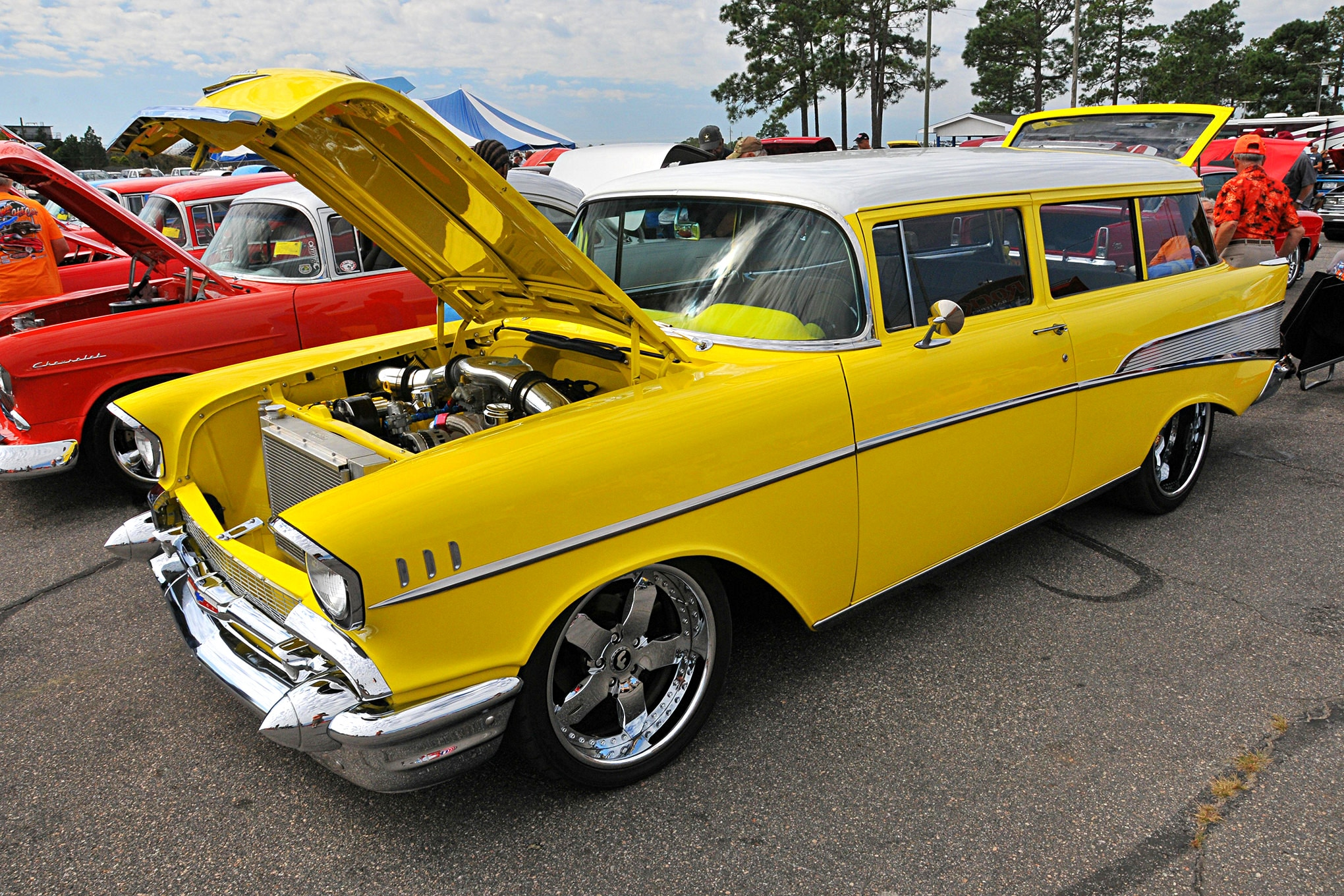 Hot Chevys Converge on Rockingham NC for the 2017 Super Chevy Show – Large Gallery!