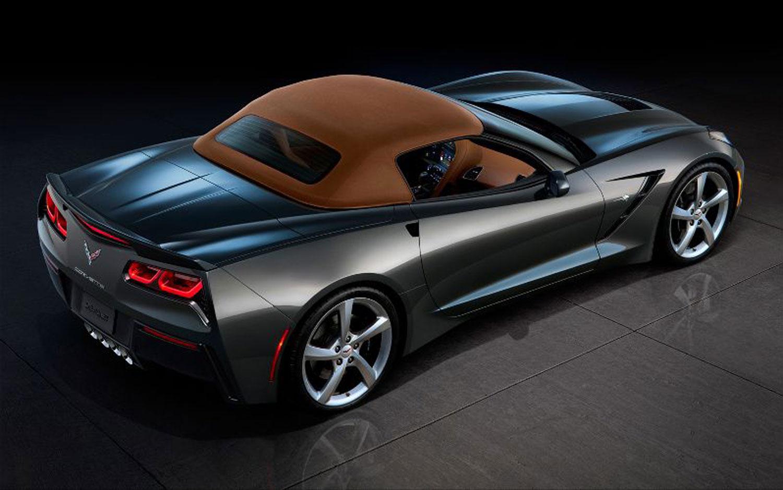 2014 Chevrolet Corvette Stingray Convertible Revealed