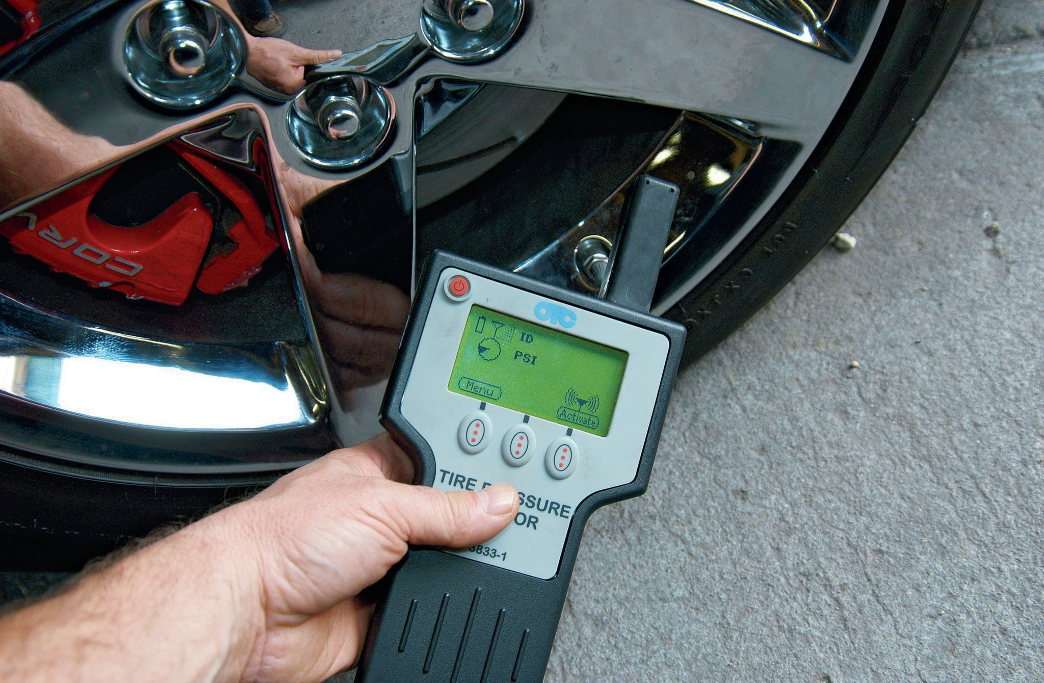 C5 and C6 Tire Pressure Monitoring System - Technically Speaking